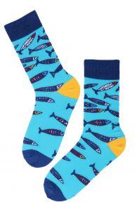 SEAPARTY marine themed cotton socks | Sokisahtel