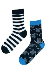 SEAMAN marine themed cotton socks | Sokisahtel