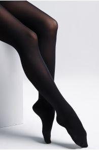 Женские колготки черного цвета с ускоренным процессом биоразложения SMART TIGHTS 90 DEN | Sokisahtel