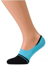 VALERI blue no show socks for men | Sokisahtel