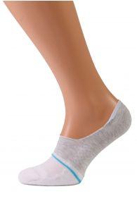 VALERI white no show socks for men | Sokisahtel