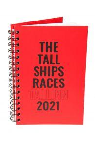 THE TALL SHIPS RACES 2021 punane märkmik | Sokisahtel