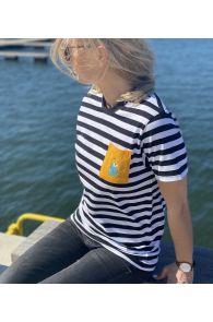 THE TALL SHIPS RACES 2021 triibuline särk kollase taskuga | Sokisahtel