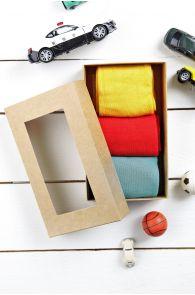 TAUNO gift box for men 3 pairs of socks | Sokisahtel