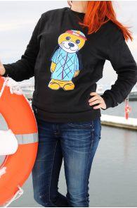 Теплый свитер черного цвета THE TALL SHIPS RACES 2021 | Sokisahtel