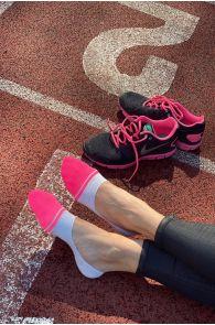 VIKI roosa-halli kirjud stepsid naistele   Sokisahtel